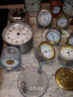 17 Antique Clocks Seth Thomas Ansonia Germany Waterbury ++