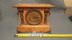 1800's Seth thomas mantle clock Adamantine. #102