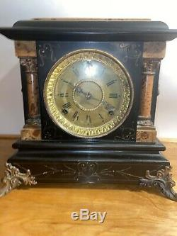 1800s seth thomas Lion mantle clock As Is