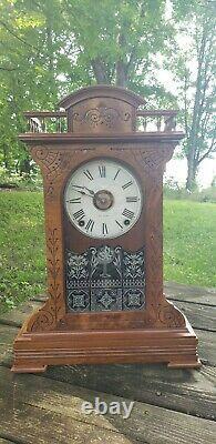 1885 Seth Thomas City Series BUFFALO Cabinet Clock