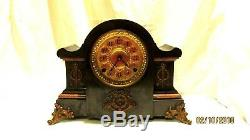 1897 Seth Thomas Adamantine Mantle Shelf Clock Model 102A for repair