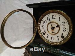 1906 Seth Thomas Sussex Adamantine 8-Day Mantel ClockNICE