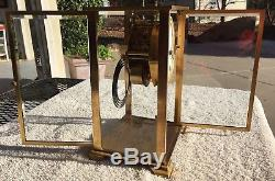 1910's Antique Seth Thomas Crystal Regulator Mantel Shelf Clock Working Great