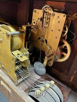 1918 Antique Seth Thomas Adamantine Mantle Clock Working Sonora Bells Quarter