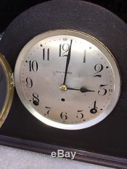 1920's Antique Seth Thomas Mantel Shelf Clock Working Camel Back