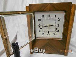 1930's Seth Thomas Art Deco shelf/mantle Clock-Updated