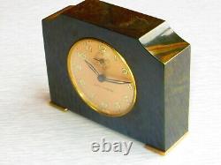 1931 Seth Thomas Catalin Alarm Clock Green excellent condition