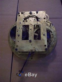 19th C. SETH THOMAS EXTERNAL BELL BRASS SHIPS BELL CLOCK (needs servicing)