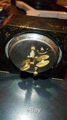 2 Vintage Art Deco Seth Thomas Bakelite Alarm Clock
