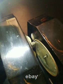3 Vintage Art Deco Seth Thomas Bakelite Alarm Clock