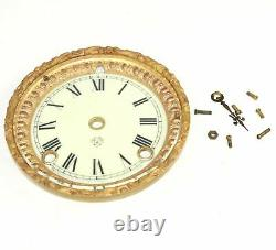 ANSONIA CLOCK DIAL with BEZEL and GLASS KK156