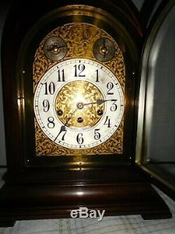 ANTIQUE SETH THOMAS CHIME CLOCK No. 70 WESTMINSTER CHIME 15 BEEHIVE/MANTLE