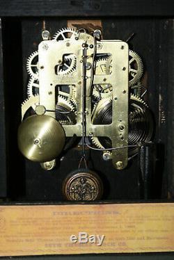 ANTIQUE SETH THOMAS SHELF MANTLE CLOCK-Totally! -Restored- c/1900-SHASTA MODEL