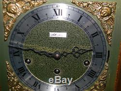 ANTIQUE Seth Thomas Mantle Clock Legacy A403-001 2 JEWELS Unaducted Manual