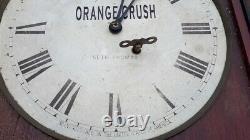 Advertising Clock by SETH THOMAS Wards Orange Crush Lemon Crush Lime Crush Soda