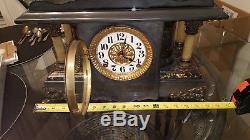 Antique 1800's Seth Thomas 4 column Mantle Clock