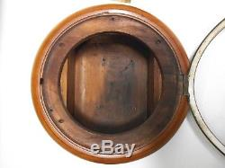 Antique 1890's Seth Thomas Wall Gallery Clock, Thomastone Conn. Chatham Model