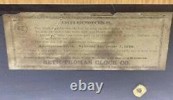 Antique 1892 Seth Thomas Adamantine Mantle Clock No. 102 NOT WORKING