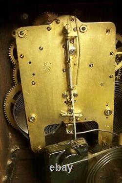 Antique 1900s Seth Thomas Mantle Clock-works/chimes, L-e 183