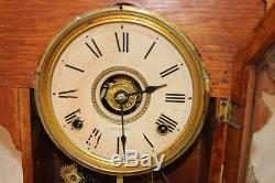Antique 1901 Seth Thomas Mantel Clock, METALS SERIES #2, 8 day 1/2 Hour Strike
