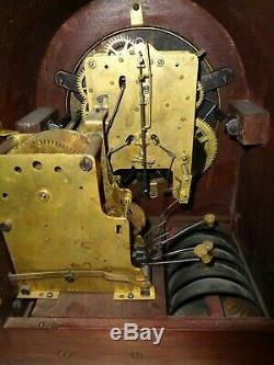 Antique-5 Bell-Sonora Chime-Seth Thomas-Mantle Clock-Ca. 1910-To Restore-#T396