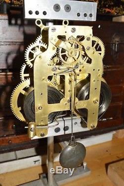Antique Adamantine Seth Thomas Mantel Clock. Restored. Serviced