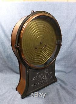 Antique Draper Self- Recording Thermometer Pat'd 1887 withSeth Thomas Clock Works
