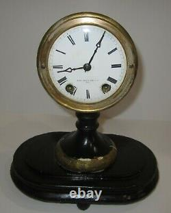 Antique Early Seth Thomas Sons & Co N. Y Candle Stick Mantel Clock