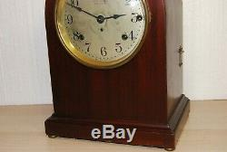 Antique SETH THOMAS 5 Bell SONORA WESTMINSTER CHIME MANTEL CLOCK