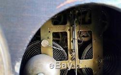 Antique SETH THOMAS Adamantine Mantle Clock Faux Marble Lion Head Claw Feet USA