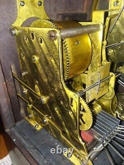 Antique SETH THOMAS clock SONORA 8 BELLS