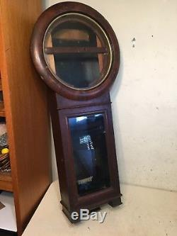 Antique Seth Thomas # 2 Regulator Clock Case Restoration Project