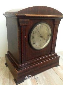 Antique Seth Thomas 4 Bell Sonora Chime Mantle Clock