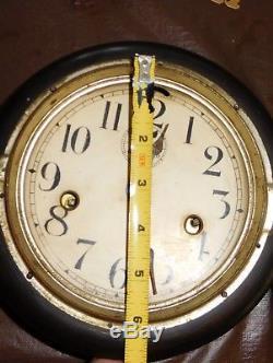 Antique Seth Thomas 6 Inch Lever Clock Running Circa Late 1800's