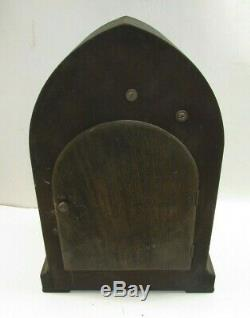Antique Seth Thomas #72 Cathedral Westminster Chime Beehive Clock -running