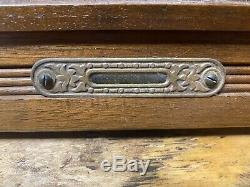 Antique Seth Thomas 8 Day Gingerbread Kitchen Shelf Mantle Clock
