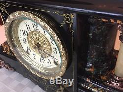 Antique Seth Thomas Adamantine Mantel Clock No 32 Shasta