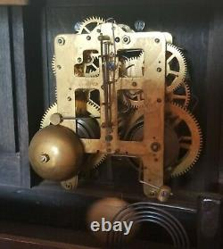 Antique Seth Thomas Adamantine Mantle Clock 1880's Early 1900's Made America