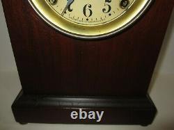 Antique Seth Thomas Arch Top Mantel Clock 8-day, Time/strike, Key-wind