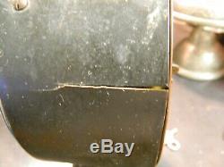 Antique Seth Thomas Automatic 8 Day Long Alarm Copper Shelf / Mantle Clock F-G