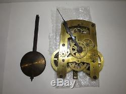 Antique Seth Thomas/Baird 15-Day Time Wall Clock Movement No. 50 Made in USA