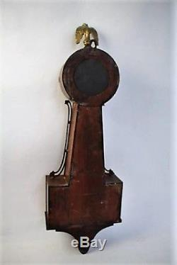 Antique Seth Thomas Banjo Clock George Washington