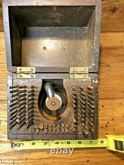 Antique Seth Thomas Clock Staking Kit L4