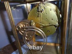 Antique-Seth Thomas-Crystal Regulator Clock-Ca. 1910-To Restore-#E342