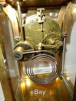 Antique-Seth Thomas-Crystal Regulator Clock-Ca. 1910-To Restore-#T178
