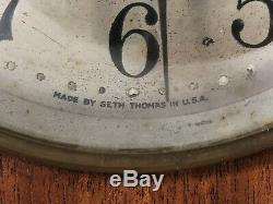 Antique Seth Thomas Double Chime Beehive Mantle Clock Nice Collectible Piece