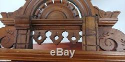Antique Seth Thomas Ellipse Gingerbread Parlor Clock City Series