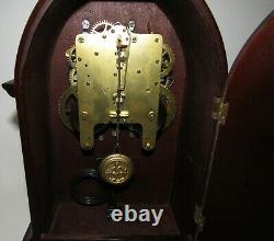 Antique Seth Thomas Gothic Clock 8-day, Time/strike, Key-wind