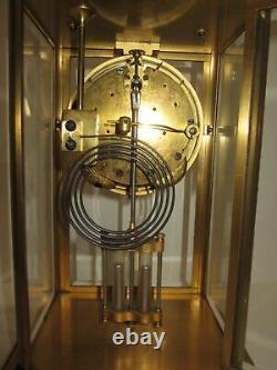 Antique Seth Thomas Large Crystal Regulator Clock 8-Day, Time/Strike, Key-wind