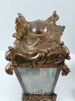 Antique Seth Thomas Mantle Clock Faux Mercury Pendulum Beveled Glass AS IS